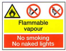 Flammable Vapour